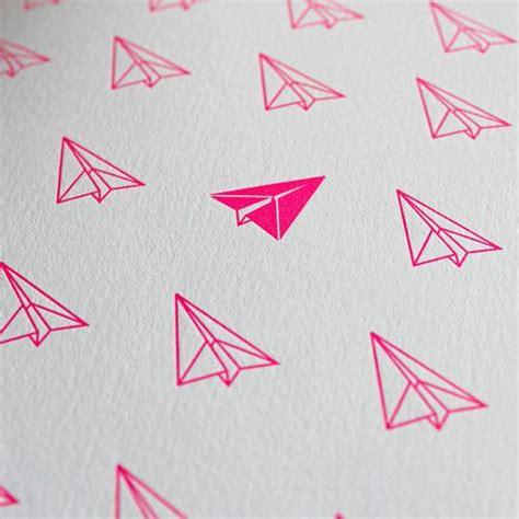 printable paper airplane card pretty patterns picmia