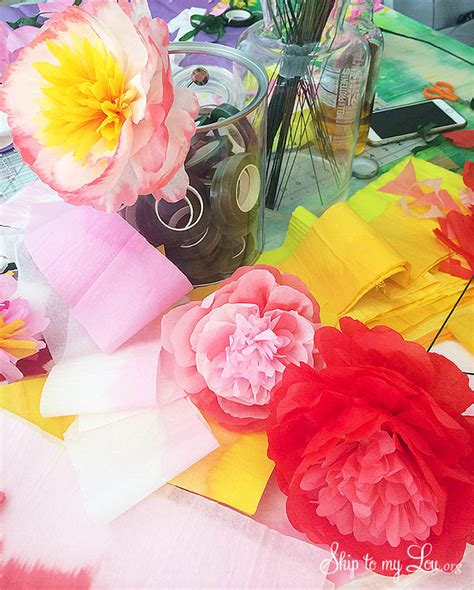 How Can We Make Flowers From Paper - creativebug free classes skip to my lou