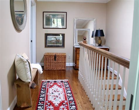 home tour upstairs hallway nook the diy village by decorating upstairs hallway ideas billingsblessingbags org