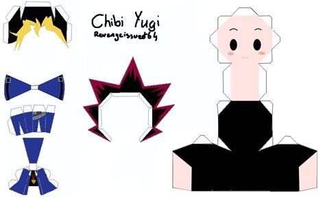 Yugioh Papercraft - yu gi oh papercraft template by revengeissweet64 on deviantart