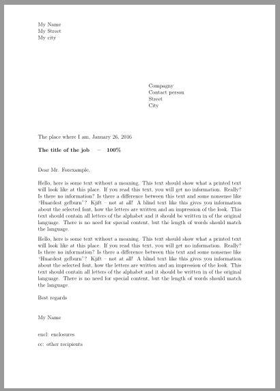 scrlttr obtain swiss letter layout tex