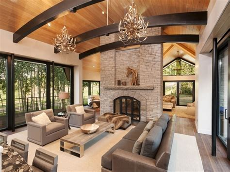 mountain homes interiors modern cabinet snowmass mountain home for sale