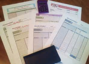 Household Planner free printable budget worksheets download or print
