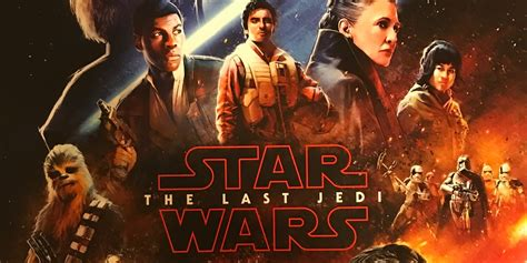 star wars the last jedi opening night fan event exclusive star wars the last jedi poster from galactic nights
