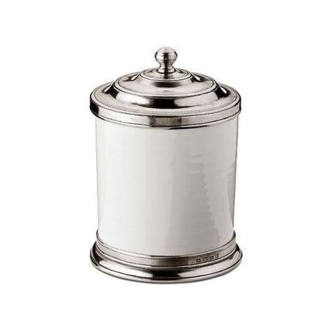 italian canisters kitchen italian pewter lidded jars canisters cosi tabellini