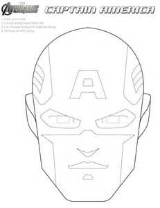 captain america helmet template printable masks