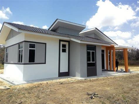 rumah banglo baru kelantan projek mampu milik 10 unit banglo 1 tingkat dengan