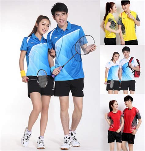 Kaos Imlek 2018 Years Unisex aliexpress buy 2015 new arrival badminton shirt and