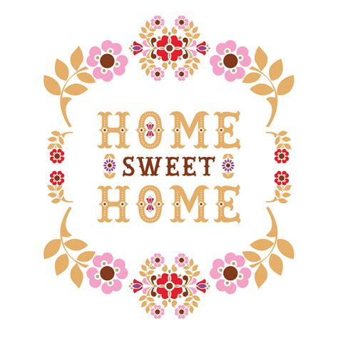 Sweet Home seven words for spontaneous whimsy