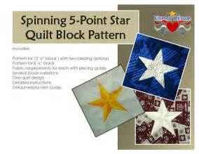 spinning 5 point quilt block by hovergirl craftsy
