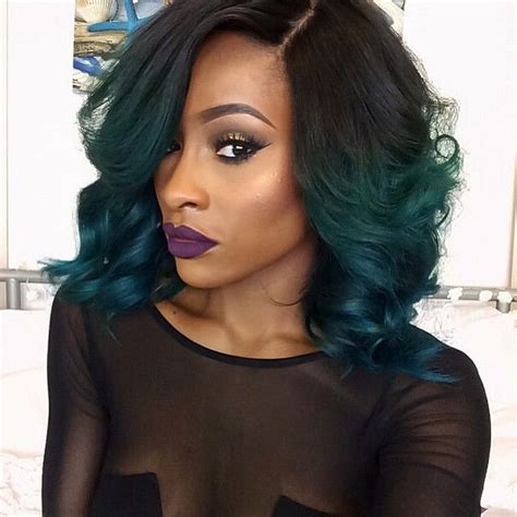 ombre hair color fro african american women african american hair dip dyed google search hair
