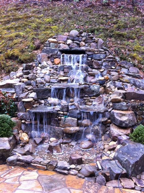 backyard pond fountains garden pond fountain ideas landscaping pinterest