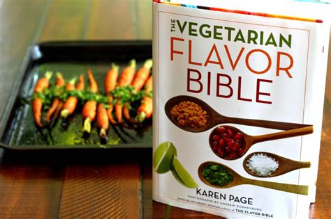 the vegetarian flavor bible recipes meatless monday roasted carrots with gremolata inspired