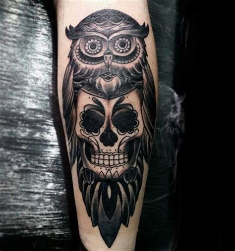 cool skull tattoos for men 100 sugar skull designs for cool calavera ink