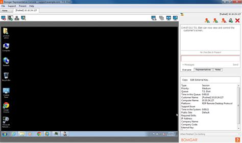 remote desktop console use local rdp for access to windows systems