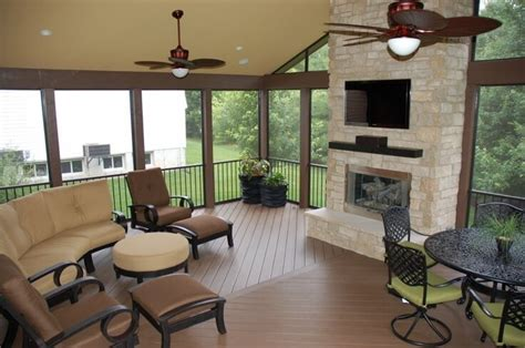 fire place in sun room nashville home improvement stratton exteriors