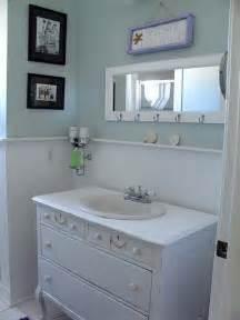 Beach Cottage Bathroom Ideas Oh How I Want A Coastal Style Bathroom With Wood Panels