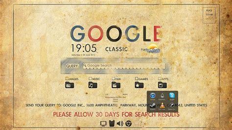 google vintage wallpaper the retro google desktop