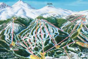 breckenridge ski map by vail resorts travel guide