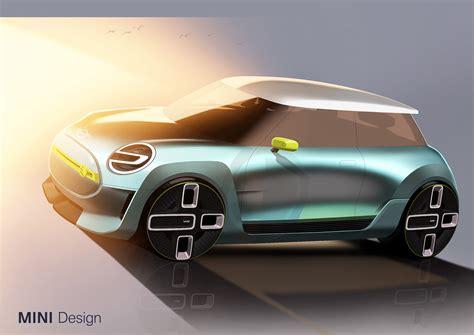 mini car electric world premiere mini electric concept