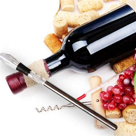 Pendingin Whisky Wine Cooling Rod Stick Pendingin Whisky Wine Cooling Rod Stick Pourer Silver Jakartanotebook