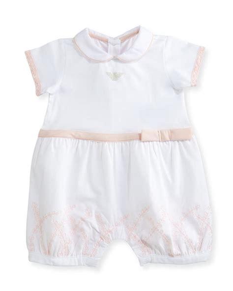 Sleeveless Lace Trim Playsuit armani junior sleeveless striped ruffle trim playsuit