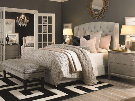 custom upholstered beds bassett custom upholstered beds paris queen size