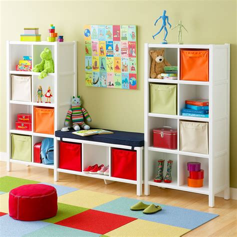 Kids Playroom Storage | toy storage colorful kids rooms