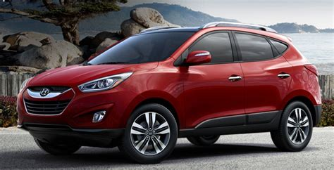 2015 hyundai tucson comes in a rainbow of colors