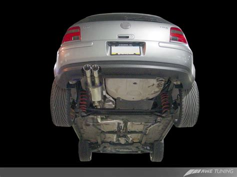 awe tuning exhaust mk jetta  vr