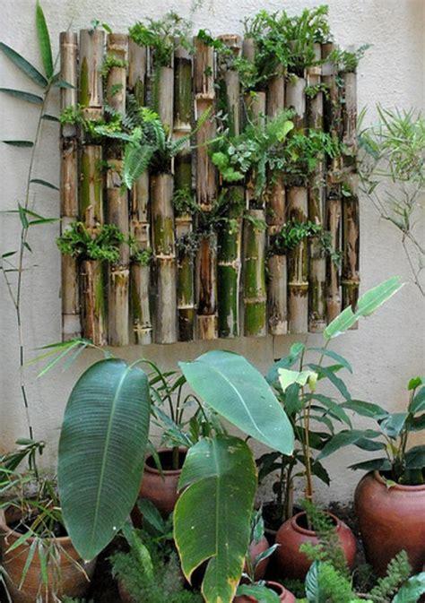 balkon wand gestalten bambus balkon vs bambus terrasse gestaltungen