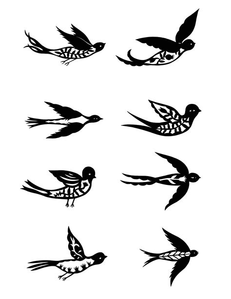bird tattoo clipart best