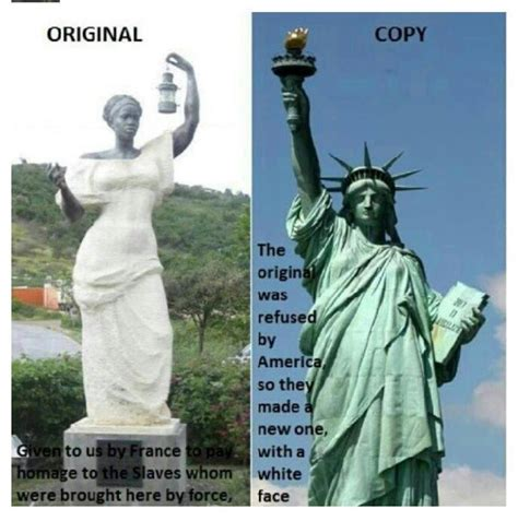 who is the tall woman on the liberty mutual commercial the original statue of liberty presented to the u s was a