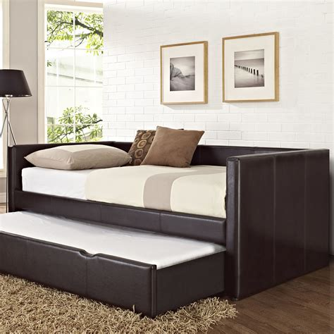 daytime bed full daybed with trundle designs and pictures homesfeed