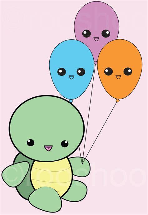 happy balloons hawaii kawaii blog drawn turtle kawaii pencil and in color drawn turtle kawaii