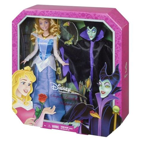 Disney Prncess Signature Collection Sleeping Maleficent Doll Nib Disney Signature Collection Sleeping