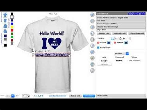 T Shirt Maker Custom T Shirt Maker Software And Application