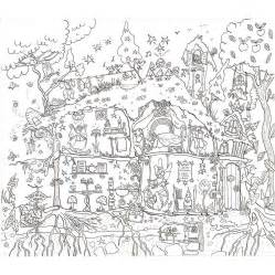 pics photos fairy house colouring