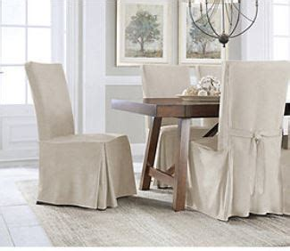 new polyester suede smooth chair cover dining room serta smooth suede short dining chair cover lt tan set