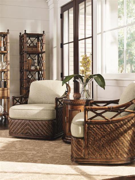 wicker bedroom chairs living room furniture tommy bahama tommy bahama home bali hai diamond cove swivel chair
