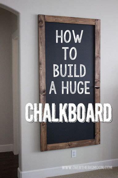 diy chalkboard wall frame best 25 large chalkboard ideas on large