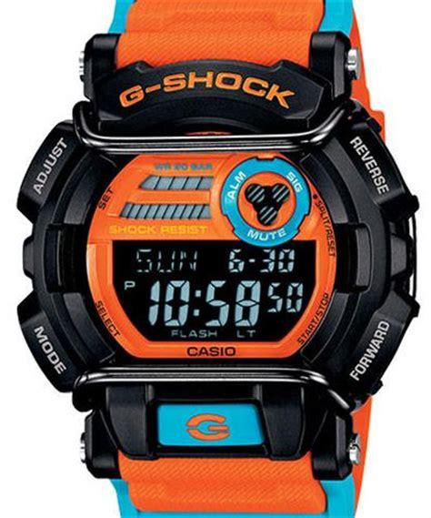 G Shock Black Orange casio g shock wrist watches g shock black orange blue