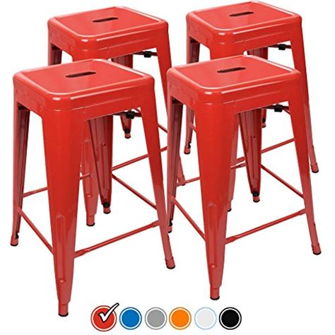 24 Bar Stools Set Of 4 by 24 Counter Height Bar Stools By Urbanmod Set Of