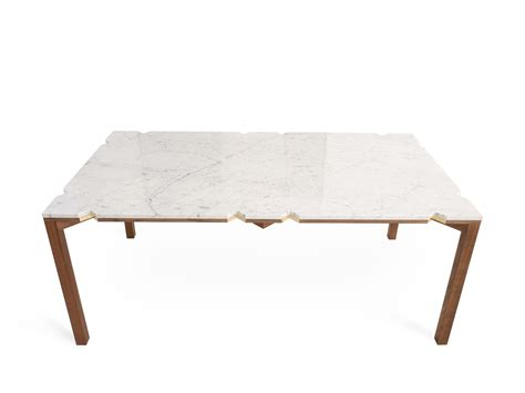 dining table marble table eco collection by efasma design