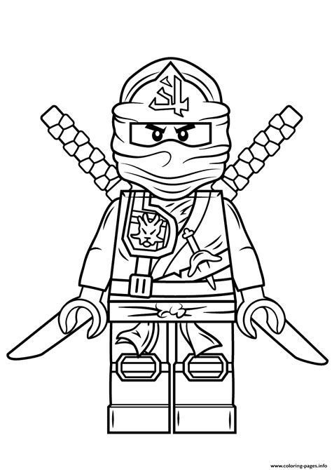 lego coloring pages printable print lego ninjago green ninja coloring pages kids