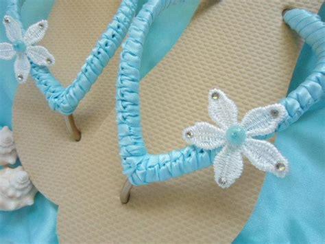 Blue Wedding Sandals For by Blue Wedding Flip Flops Blue Wedding Shoes Blue Sandals