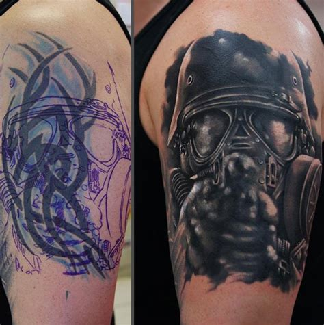 55 incredible cover up tattoos before and after tattoo