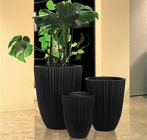 modern planters and pots planter pots modern indoor pots and planters miami