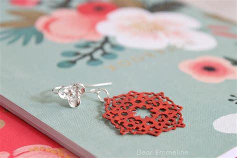 martha stewart diy crafts diy glazed filigree earrings with martha stewart crafts