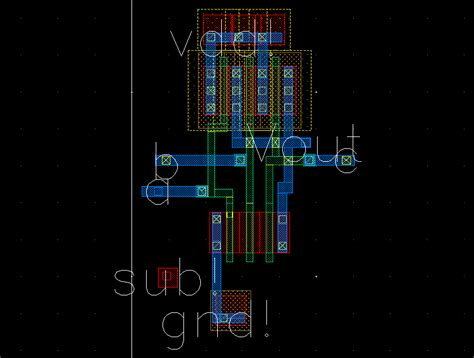 layout for nand gate 3 input nand gate vlsi final project 8 bit claa